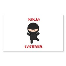 Ninja Caterer Decal