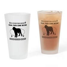 Spinone Italiano mommy designs Drinking Glass