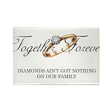 Together Forever Rectangle Magnet (10 pack)