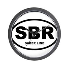Saber Line Shirts and Gifts! Wall Clock