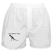 Custom T-Rex Skeleton Boxer Shorts