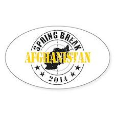 Spring Break Afghanistan 2014 Decal