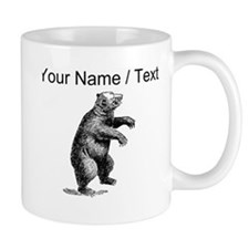 Custom Grizzly Bear Sketch Mugs