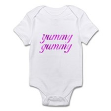 Unique Yummy mummy Infant Bodysuit