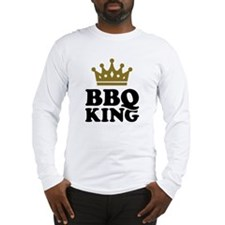 BBQ King crown Long Sleeve T-Shirt