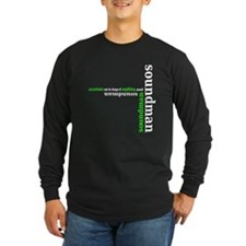 soundman - green Long Sleeve T-Shirt