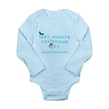 Personalize Last Minute Christmas Gift Body Suit