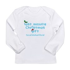 Personalize Last Minute Christmas Gift Long Sleeve