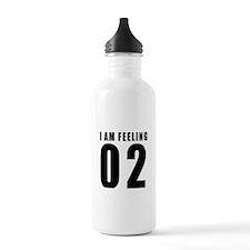I am feeling 02 Water Bottle
