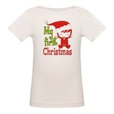 My First Christmas Santa Baby Girl T-Shirt