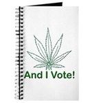 And I Vote! Journal