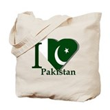 I love Pakistan Tote Bag