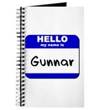 hello my name is gunnar Journal