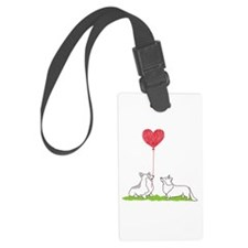 Corgi Valentine - Luggage Tag