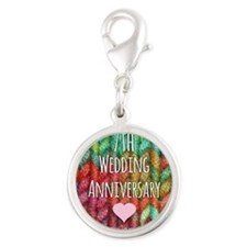 7th Wedding Anniversary Charms