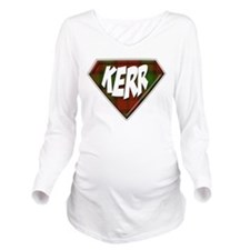 Kerr Superhero Long Sleeve Maternity T-Shirt