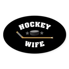 Hockey Wife Decal