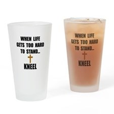 Kneel Drinking Glass