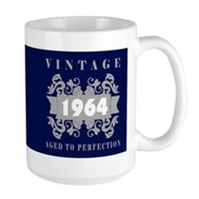 1964 Aged To Perfection Ceramic Mugs