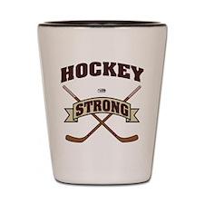Hockey Strong Shot Glass
