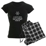 Christmas vacation pajamas Women's Pajamas Dark