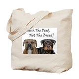 Punish the deed! Tote Bag