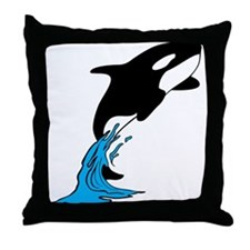 shamu Throw Pillow