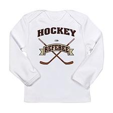 Hockey Referee Long Sleeve Infant T-Shirt