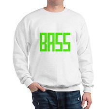 Lime Green Bass Sweatshirt