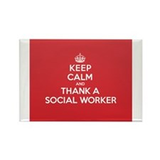 K C Thank Social Worker Magnets