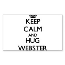 Keep calm and Hug Webster Decal