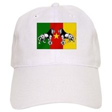 Cameroon Football Flag Baseball Cap