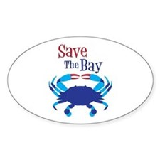 Save The Bay Decal
