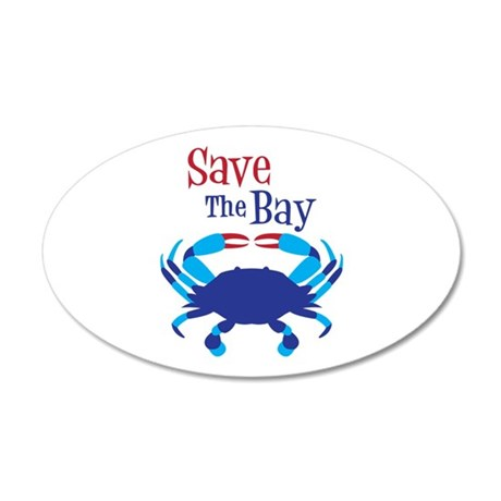 Save The Bay Wall Decal