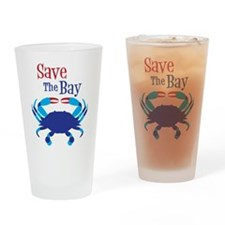 Save The Bay Drinking Glass