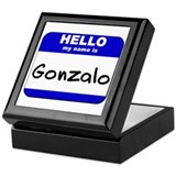 hello my name is gonzalo Keepsake Box