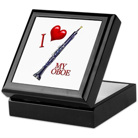 I Love My OBOE (2) Keepsake Box