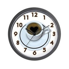 Coffee Love Wall Clock