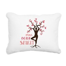 MIND BODY SPIRIT Rectangular Canvas Pillow