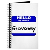 hello my name is giovanny Journal