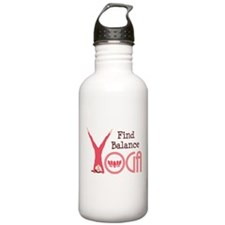 YOGA Find Balance Water Bottle