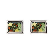 Violin, 1921 painting by Kuzma Petrov-Vo Cufflinks