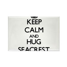 Keep calm and Hug Seacrest Magnets