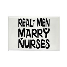 Real men marry nurses Magnets