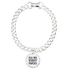 Real men marry nurses Bracelet