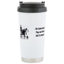 Unique Curling rock Travel Mug
