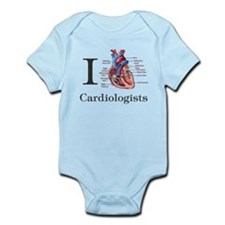 I heart Cardiologist Body Suit