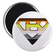BEAR PRIDE SUPER BEAR/BEVEL Magnet