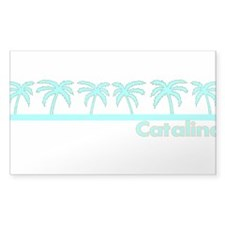 Catalina Island, California Rectangle Decal