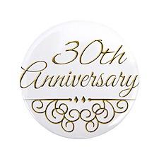 """30th Anniversary 3.5"""" Button"""